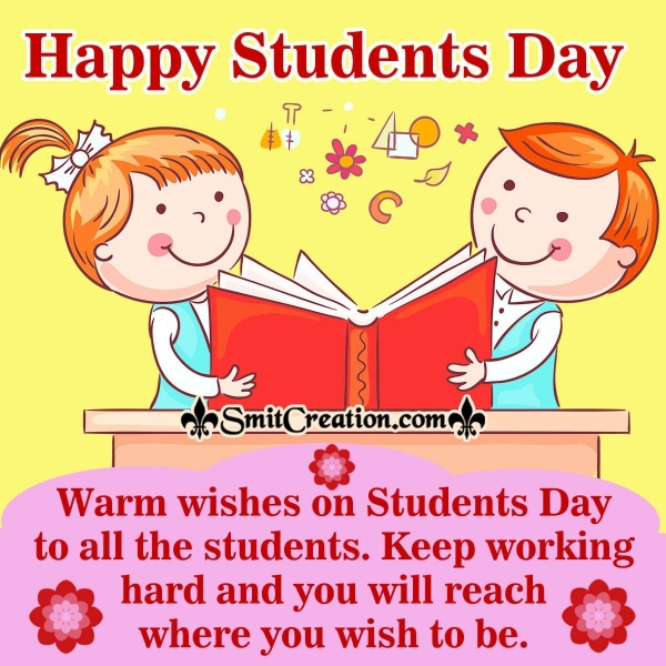 Warm Wishes On Students Day To All The Students