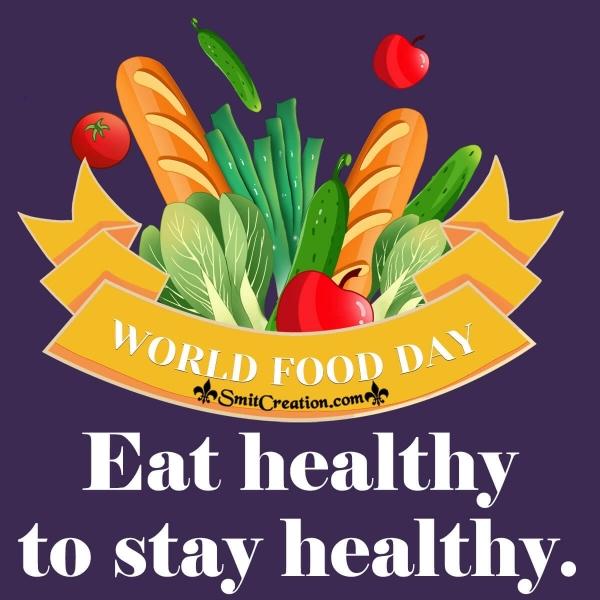 World Food Day Slogan