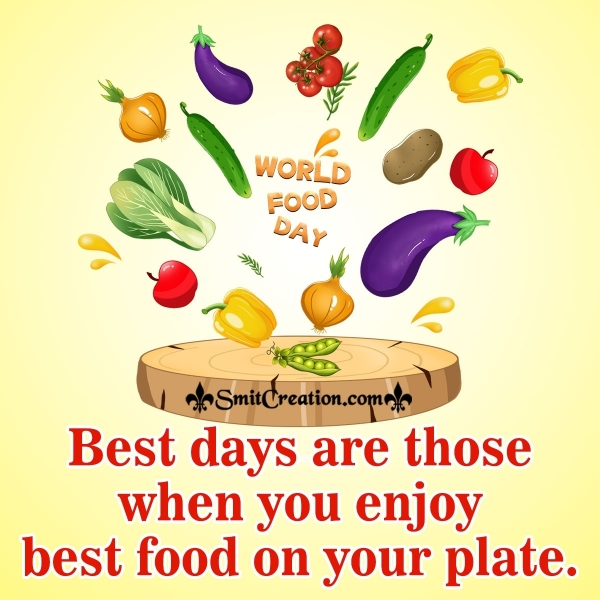 World Food Day Quote