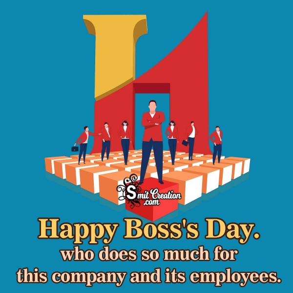 Happy Boss's Day To Boss
