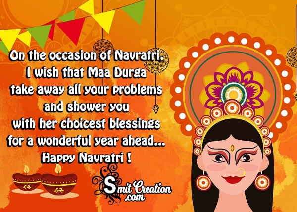 Happy Navratri Blessings