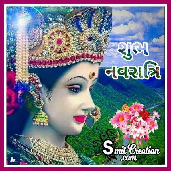 Shubh Navratri Gujarati Picture