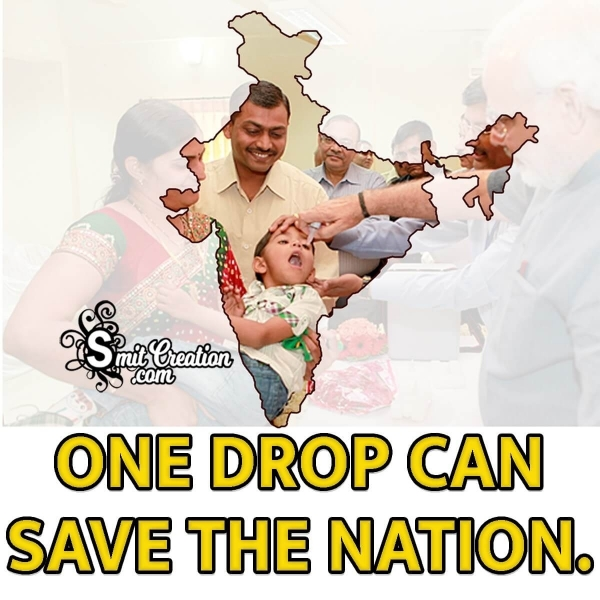 One Drop Can Save The Nation