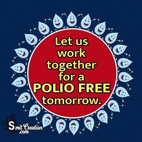 Pulse Polio English Slogan Picture