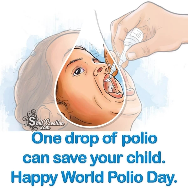 One Drop Of Polio Can Save Your Child