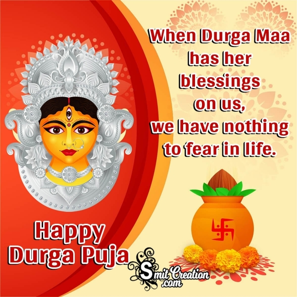 Happy Durga Puja Blessings