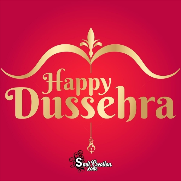 Happy Dussehra Text Image