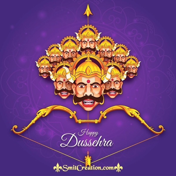 Happy Dussehra Ravan Pic
