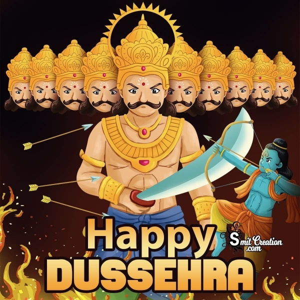 Happy Dussehra Ravan Picture
