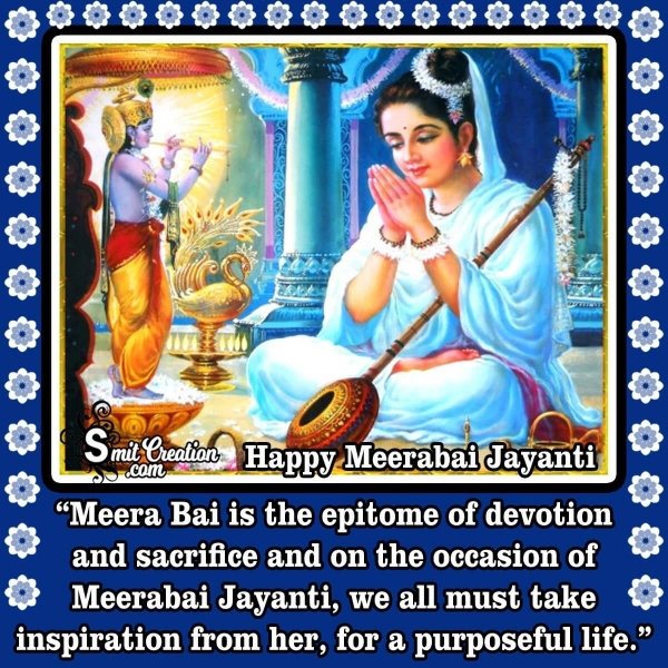 Happy Meerabai Jayanti