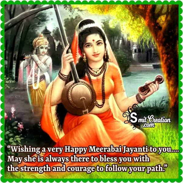 Wishing A Very Happy Meerabai Jayanti