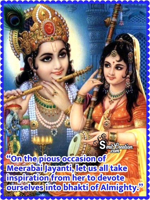Meerabai Jayanti Message