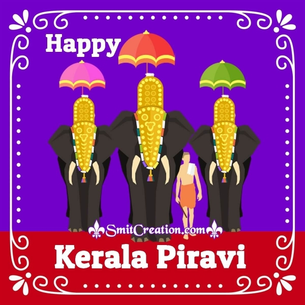 Happy Kerala Piravi Image