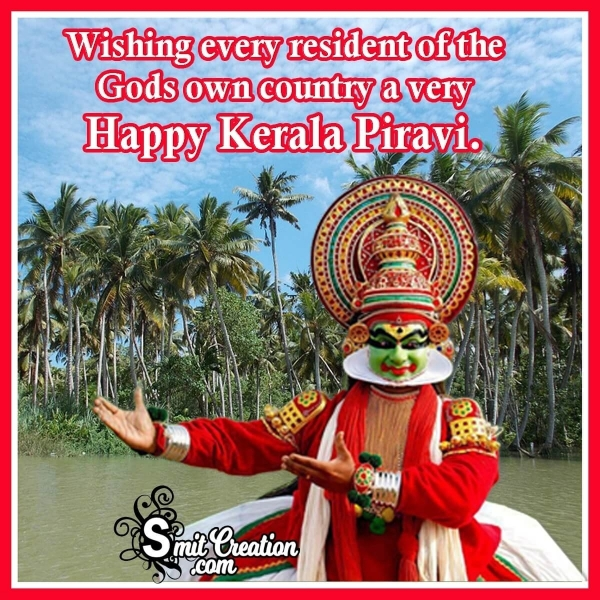 Wishing A Very Happy Kerala Piravi