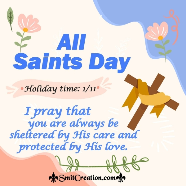 All Saints' Day Good Thought