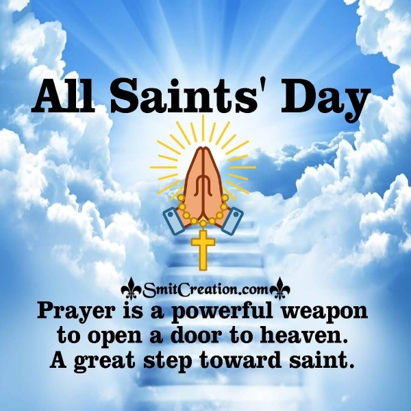 A Door To Heaven – ALL SAINTS' DAY IMAGE