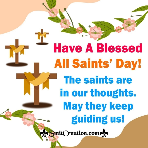 Have A Blessed All Saints' Day Thought