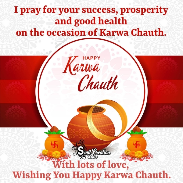 Wishing You Happy Karwa Chauth
