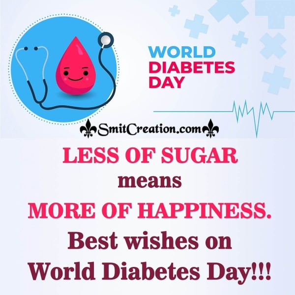 Best wishes on World Diabetes Day