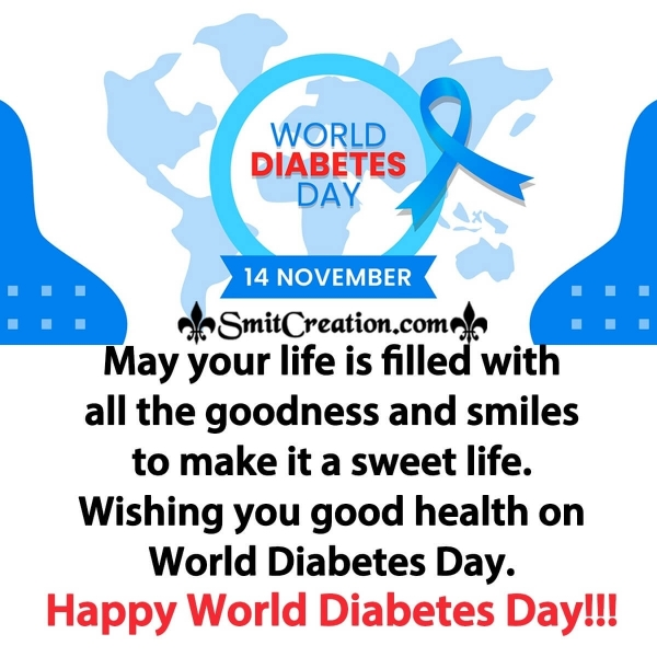 Wishing You Happy World Diabetes Day