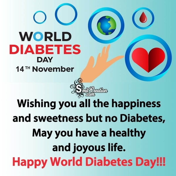 Happy World Diabetes Day Wishes