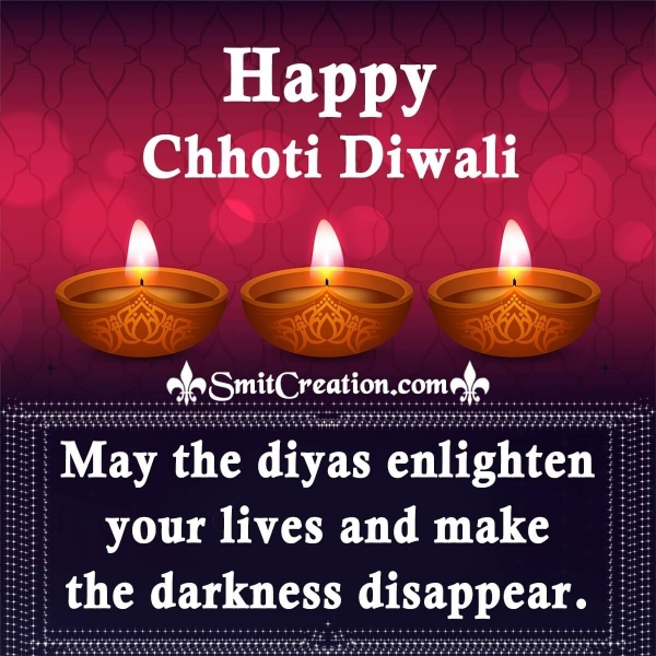 Happy Choti Diwali Messages and Wishes for Family and Friends