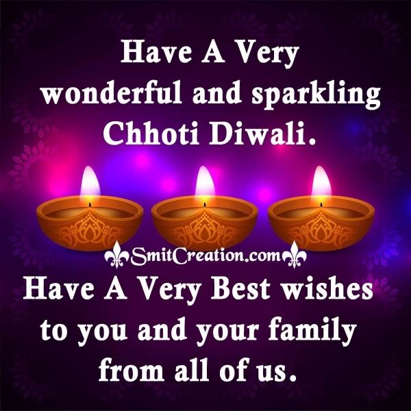 Happy Choti Diwali Wishes Image