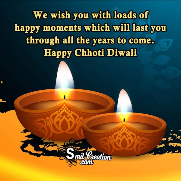 Happy Choti Diwali Englsih Wishes