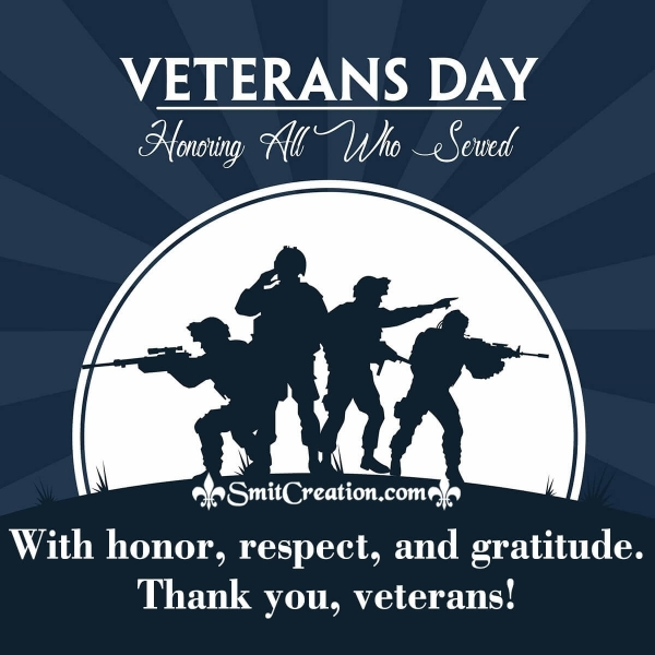 Veterans Day Quotes and Messages of Appreciation