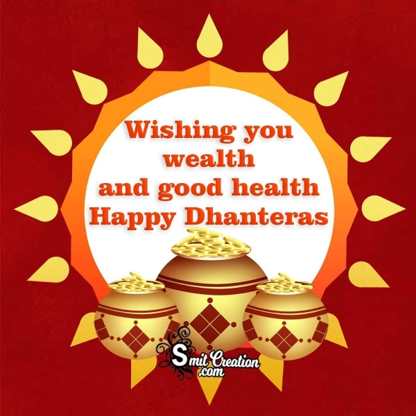 Happy Dhanteras Wishes Image