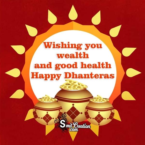 Happy Dhanteras Wishes Image
