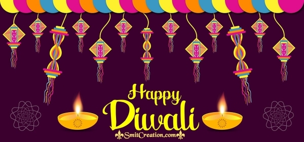 Happy Diwali Facebook Cover Image