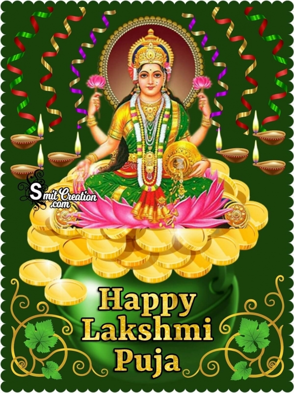 Happy Lakshmi Puja Image