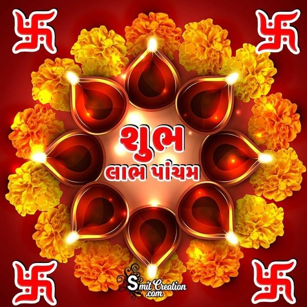 Happy Labh Pancham Gujarati Image