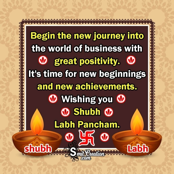 Wishing You Shubh Labh Pancham