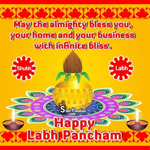 Happy Labh Pancham English Wishes