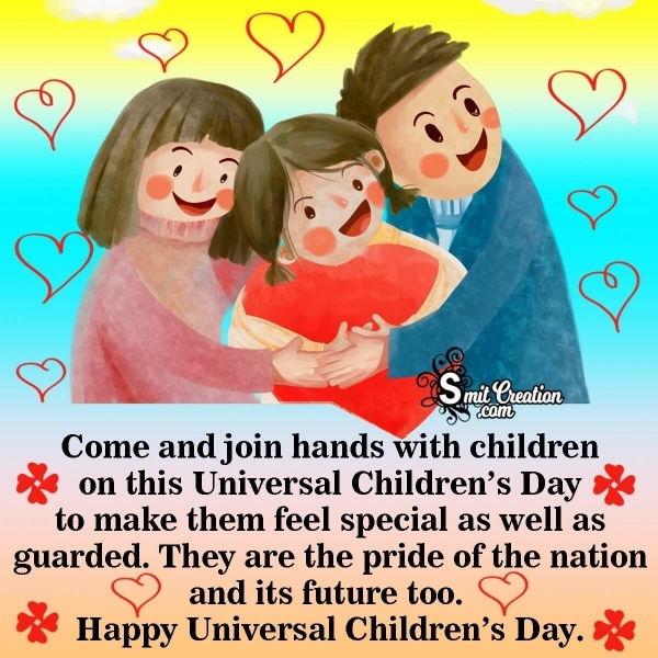 Universal Children's Day Wishes Messages