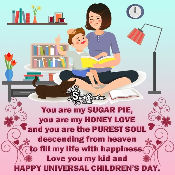 Universal Children's Day Messages from Mothers