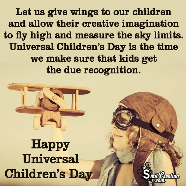 Happy Universal Children's Day Wishes