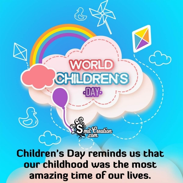 World Children's Day Messages