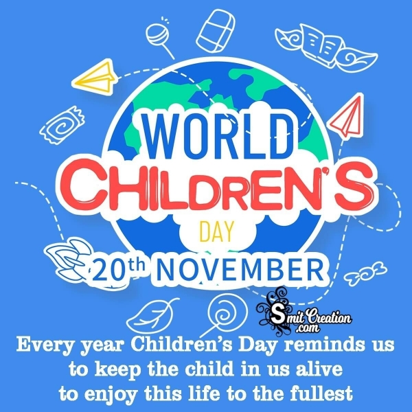 Universal Children's Day Messages, Quotes Images