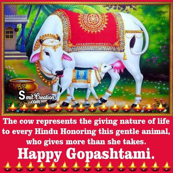 Happy Gopashtami Message In English