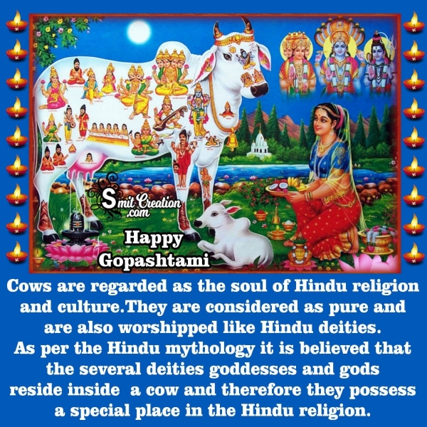 Importance Of Gopashtami In English