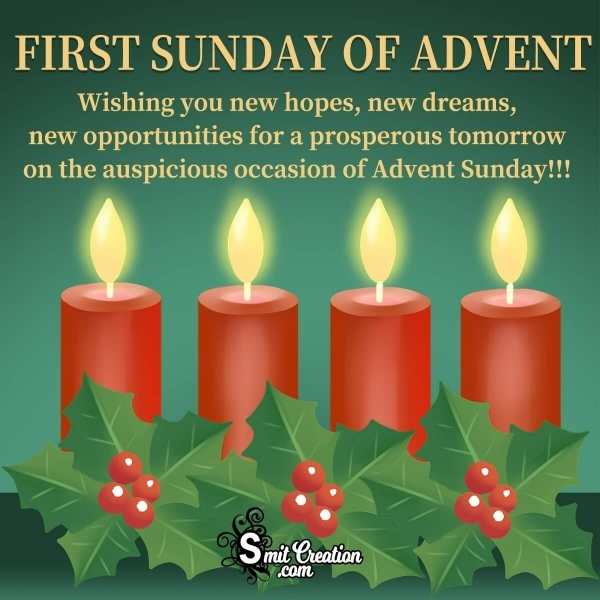 First Sunday Of Advent Wishes