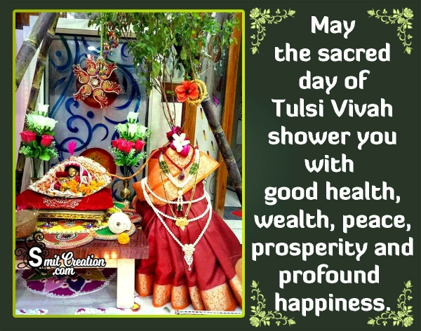 Happy Tulsi Vivah Messages In English
