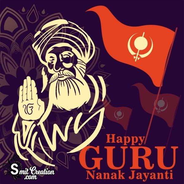 Happy Guru Nanak Jayanti Image
