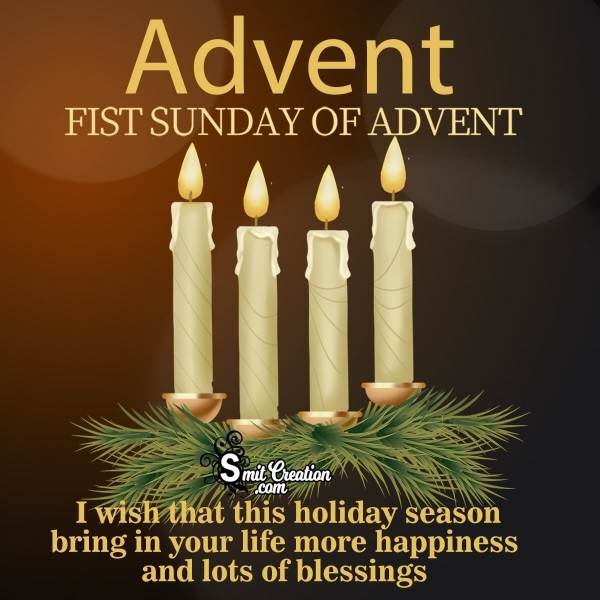 Happy Advent Sunday Wishes Message