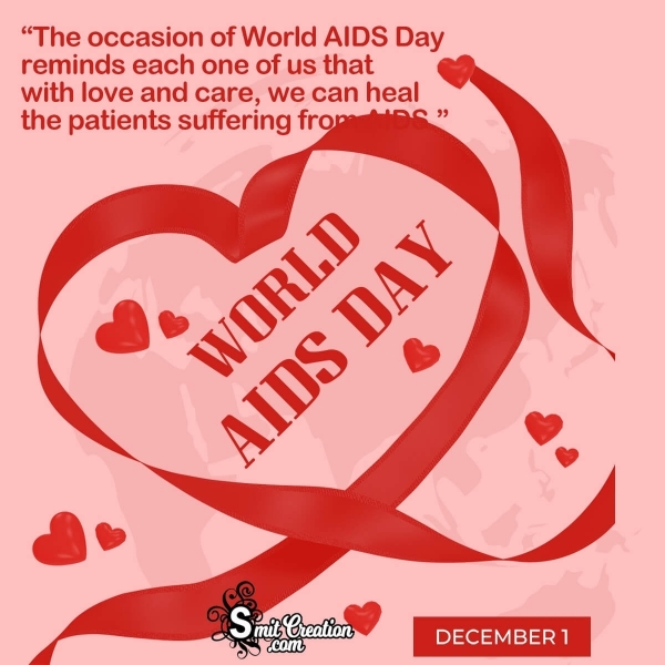 World AIDS Day Message