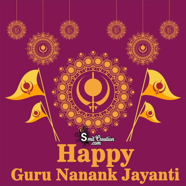 Happy Guru Nanak Jayanti For Whatsapp