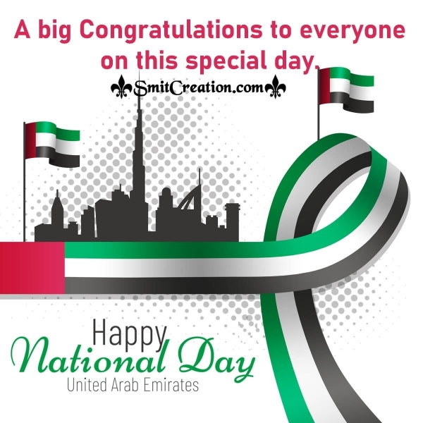 Congratulation Message of National Day of UAE